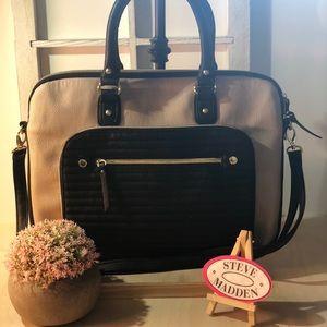 Steve Madden ~ Brief Case Style Handbag